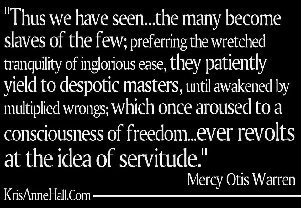 mercy otis quote